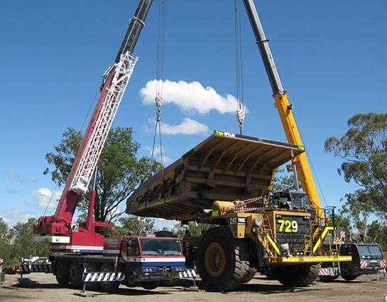 Valley Cranes - General Crane Hire